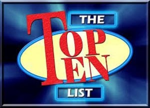 The Top Ten List